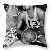 Chamberlain Versus Russell Throw Pillow by Underwood Archives