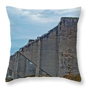 Chambers Bay Architectural Ruins Throw Pillow