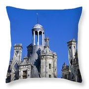 Chambord Chateau  Throw Pillow