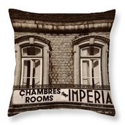 Chambres Imperial Lisbon Throw Pillow