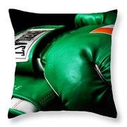 Champ Throw Pillow by John Rizzuto