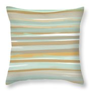 Champagne And Gold Throw Pillow