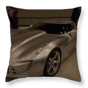 Champagne Class Throw Pillow