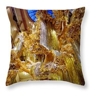 Champagne Dreams Throw Pillow