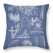 Champia Parvula Throw Pillow