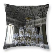 Chandelier - Yusupov Palace - Russia Throw Pillow
