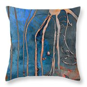 Chandeliers And Gutters  Throw Pillow