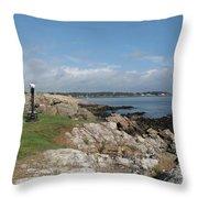 Chandler Hovey Park Marblehead Massachusetts Throw Pillow