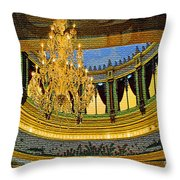 Chandlier Theatre  Throw Pillow