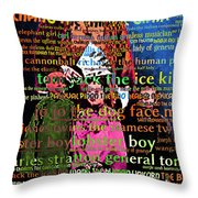 Chang The Chinese Giant - Human Carnival Sideshows And Other Oddities Of The World 20130626 Throw Pillow