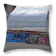 Changes In Latitudes Throw Pillow