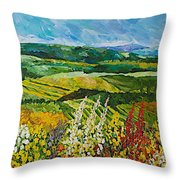 Change Is In The Air Throw Pillow