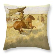 Change Of Ownership Throw Pillow