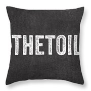 Change The Toilet Paper Throw Pillow