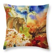 Changing Of The Seasons Throw Pillow