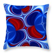 Changing Places Throw Pillow