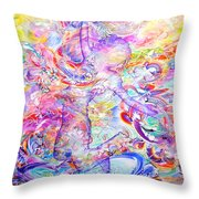 Changing The Atmosphere Throw Pillow