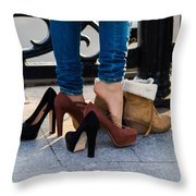 Changing The Seasons - Featured 3 Throw Pillow by Alexander Senin
