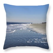 Changing Tide Throw Pillow