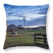 Changing With The Wind Throw Pillow