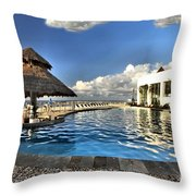 Chankanaab National Park Pool Throw Pillow