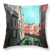 Channel Throw Pillow