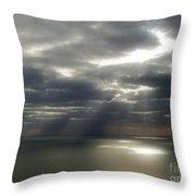 Channel Sunburst Throw Pillow