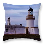Chanonry Point Lighthouse Throw Pillow