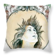 Chanson D'amour Throw Pillow