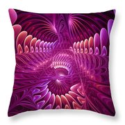 Chaos And Order Throw Pillow