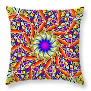 Chaos In Order Throw Pillow