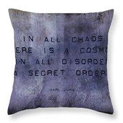 Chaos - Carl Jung Throw Pillow
