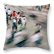 The Junction Throw Pillow
