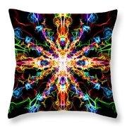 Chaos Star Throw Pillow