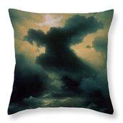 Chaos The Creation Throw Pillow