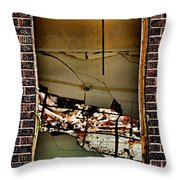 Chaotic Classroom Throw Pillow