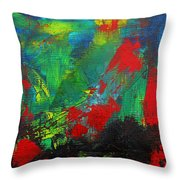 Chaotic Hope Throw Pillow