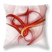 Chaotic Together Throw Pillow