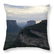 Chapada Diamantina Landscape 2 Throw Pillow