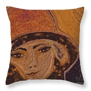 Chapeau By Jrr Throw Pillow