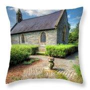 Chapel 17th Century  Throw Pillow