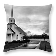 Chapel At Four Winds In Conway Arkansas Throw Pillow