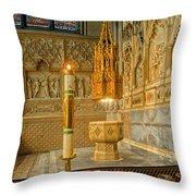 Chapel At Saint Patricks Cathedral Throw Pillow