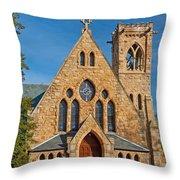 Chapel At Uva Throw Pillow