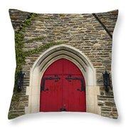 Chapel - D003211 Throw Pillow by Daniel Dempster