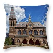 Chapel Hall Throw Pillow