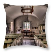 Chapel In Wales Throw Pillow