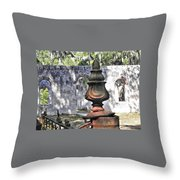 Chapel Of Ease St Helena Island Throw Pillow