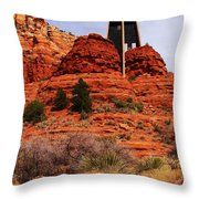 Chapel Of The Holy Cross 3 Throw Pillow