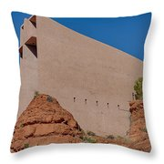 Chapel Of The Holy Cross Sedona Az Side Throw Pillow